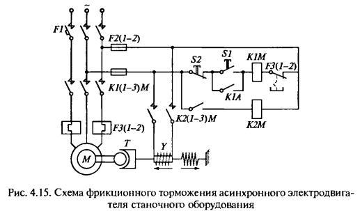 Электродвигатель подключается