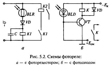 Схема фотореле на фоторезисторе своими руками 34