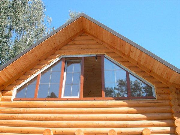 """Пластиковые окна в деревянном доме """" ремонт строительство ин."""